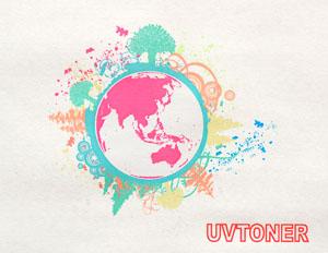 UV-toner 通常光