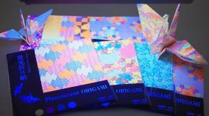 蛍光折り紙2